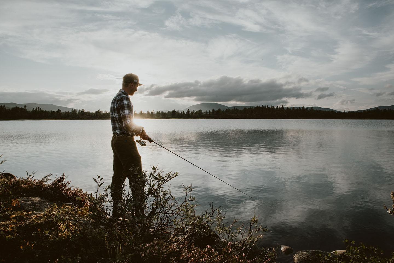 Fiskare i Funäsdalen